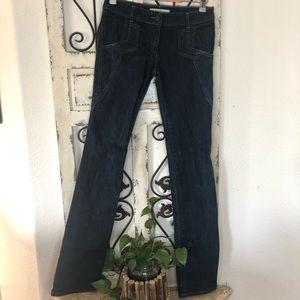 Stella McCartney boot cut jeans size 40